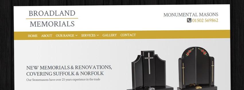 Website: Broadland Memorials