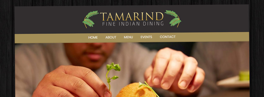 New website - Tamarind Fine Indian Dining