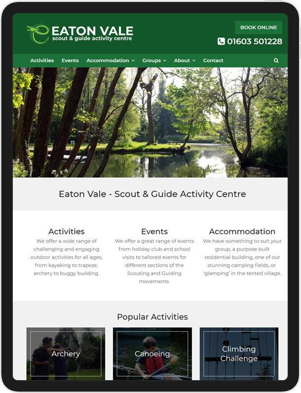 Eaton Vale - New Wordpress Website