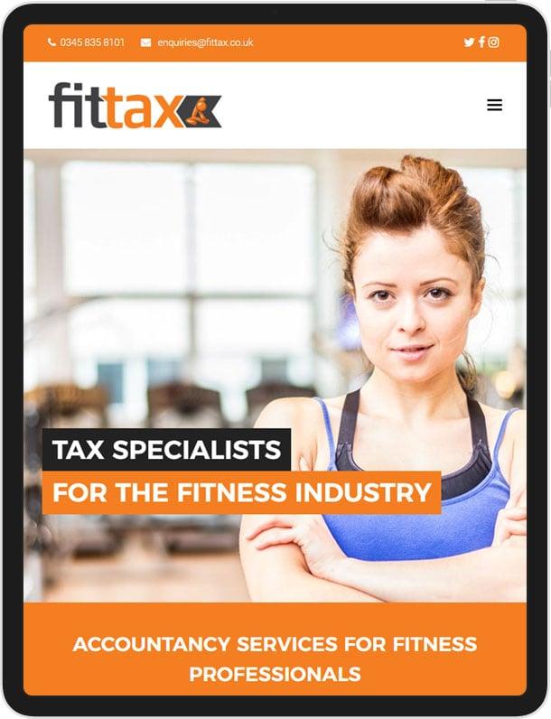 Wordpress Website for FitTax