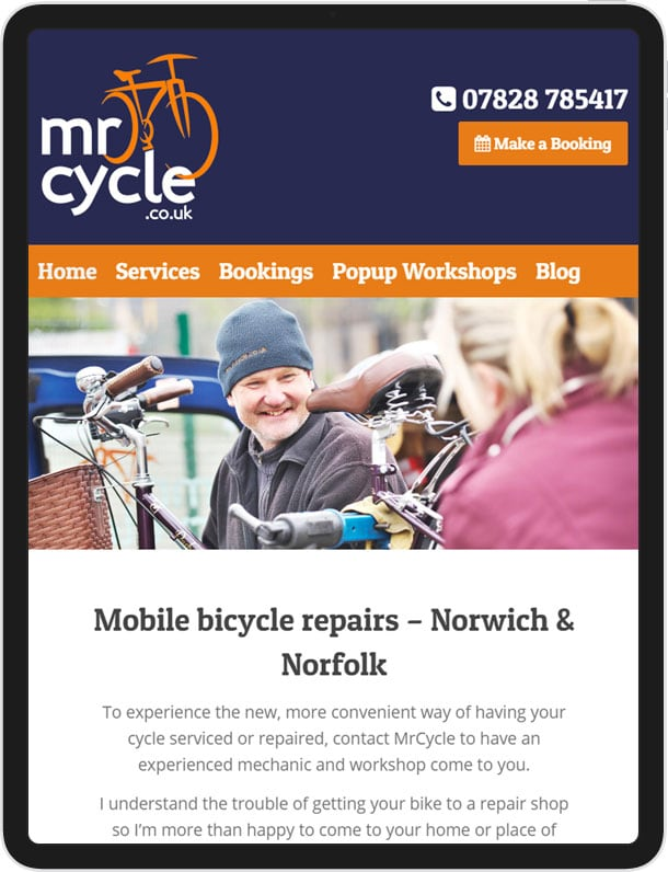 Website For Mr Cycle