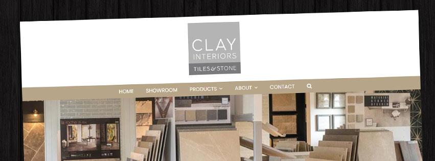 Wordpress Website Clay Interiors